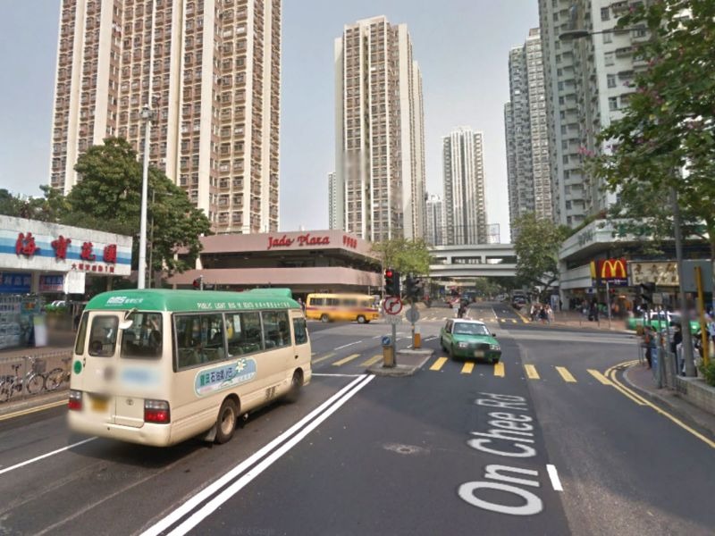 An intersection in On Chee Road, Tai Po. Photo: Google Maps