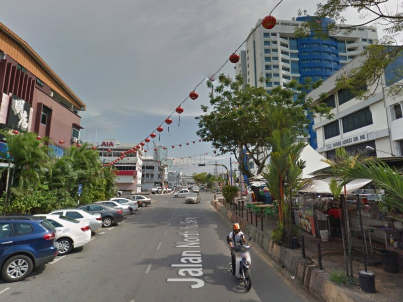 Jalan North Yu Seng Road in Sarawak, Malaysia. Photo: Google Maps