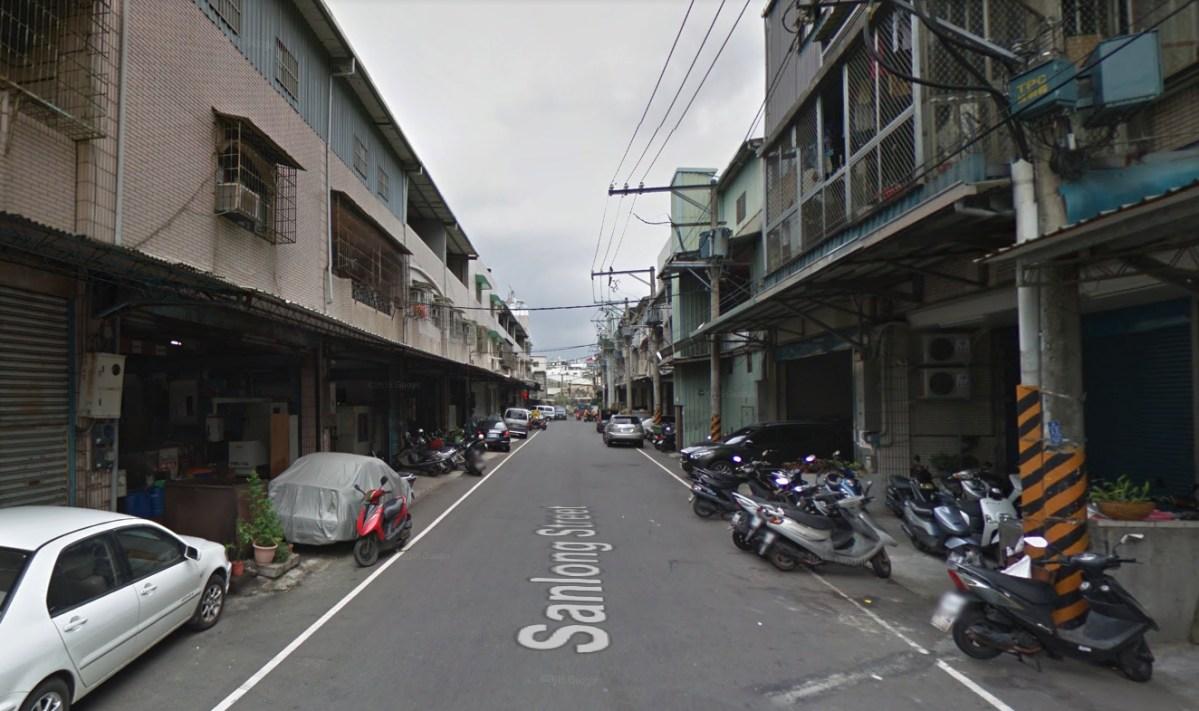 Sanlong Street neighborhood in Shulin district, New Taipei City. Photo: Google Maps