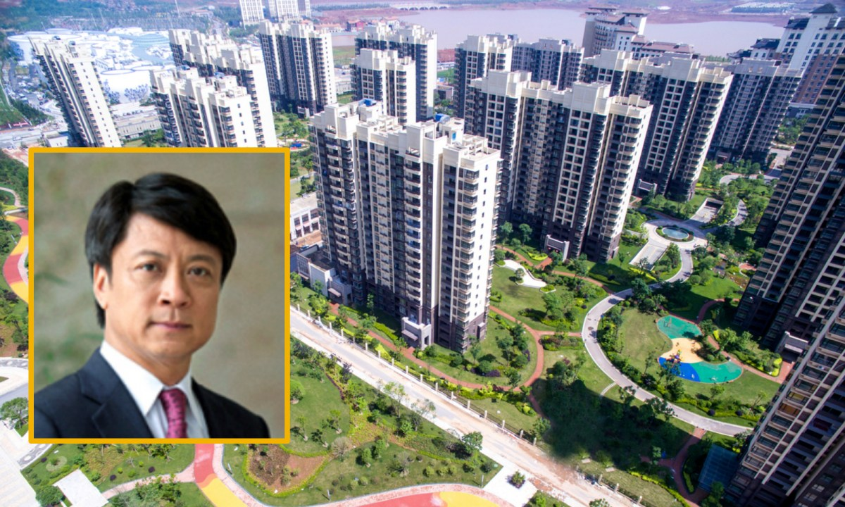 Sun Hongbin (inset) made his fortune through property development, following a stint in jail. Photo: iStock, Sunac