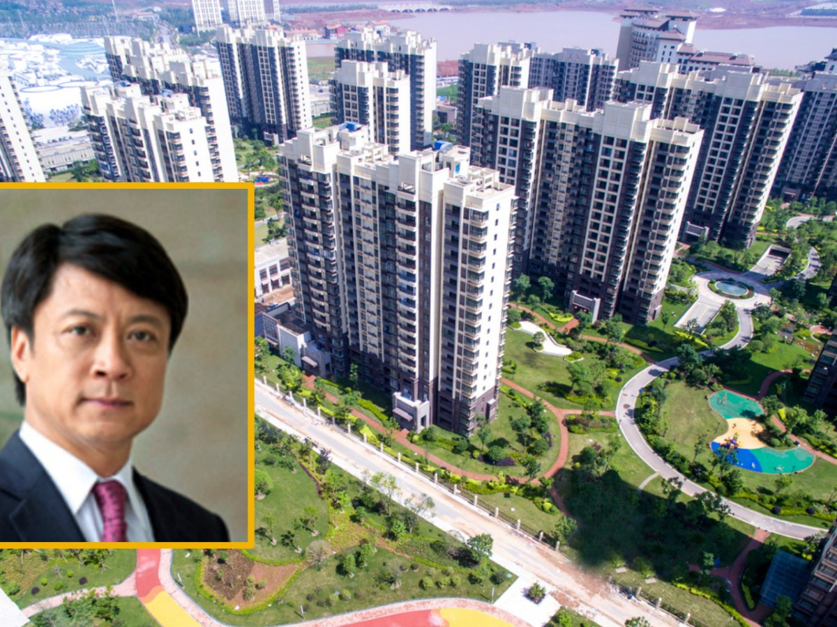Sun Hongbin (inset) made his fortune through property development, following a stint in jail. Photo: iStock, Sunac