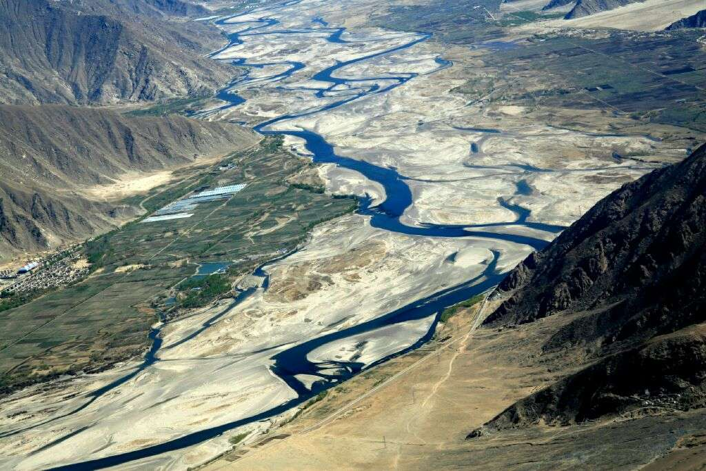 China is launching an array of hydraulic projects along the Tibetan section of the Brahmaputra river. Photo: Xinhua