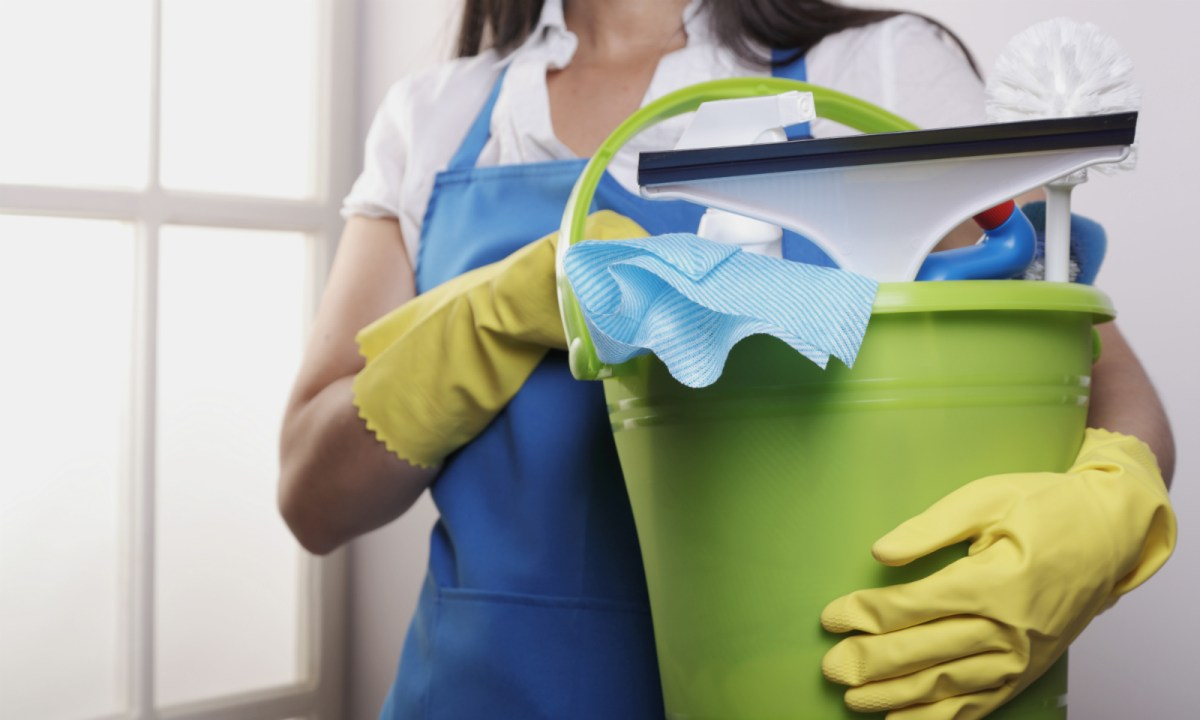 Many Hong Kong families can enjoy their careers and leisure as domestic workers help them take care of the housework. Photo: iStock