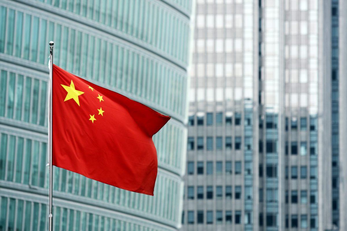 Chinese flag. Photo: iStock