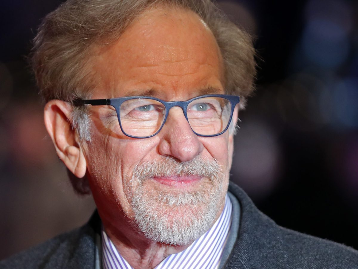 Steven Spielberg poses on the red carpet before the European premiere of the The Post, in London, on January 10, 2018. Photo: AFP / Daniel Leal-Olivas