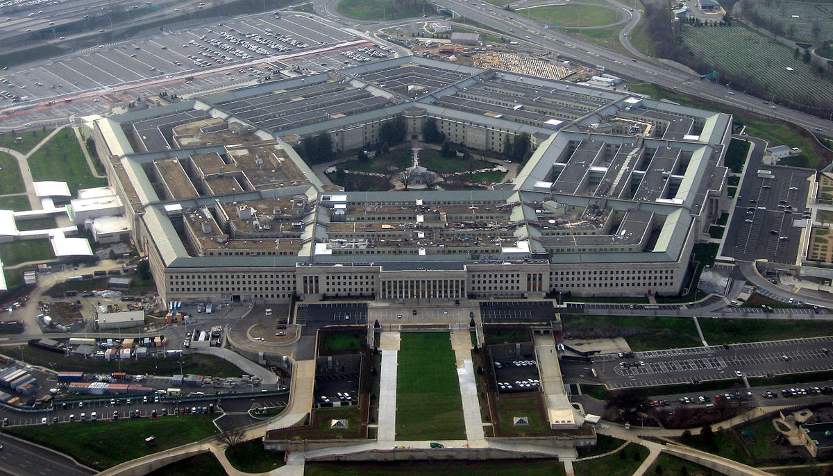 View of Pentagon. Photo: Wikipedia Commons