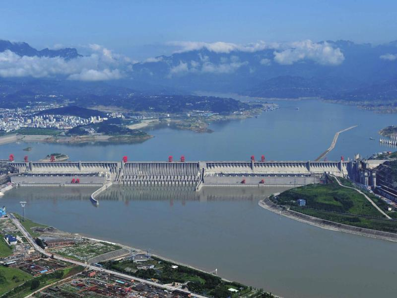 The Three Gorges Dam in central China has long been considered as a target by the Taiwanese military for a counterattack in the event of an invasion by the PLA. Photo: Xinhua
