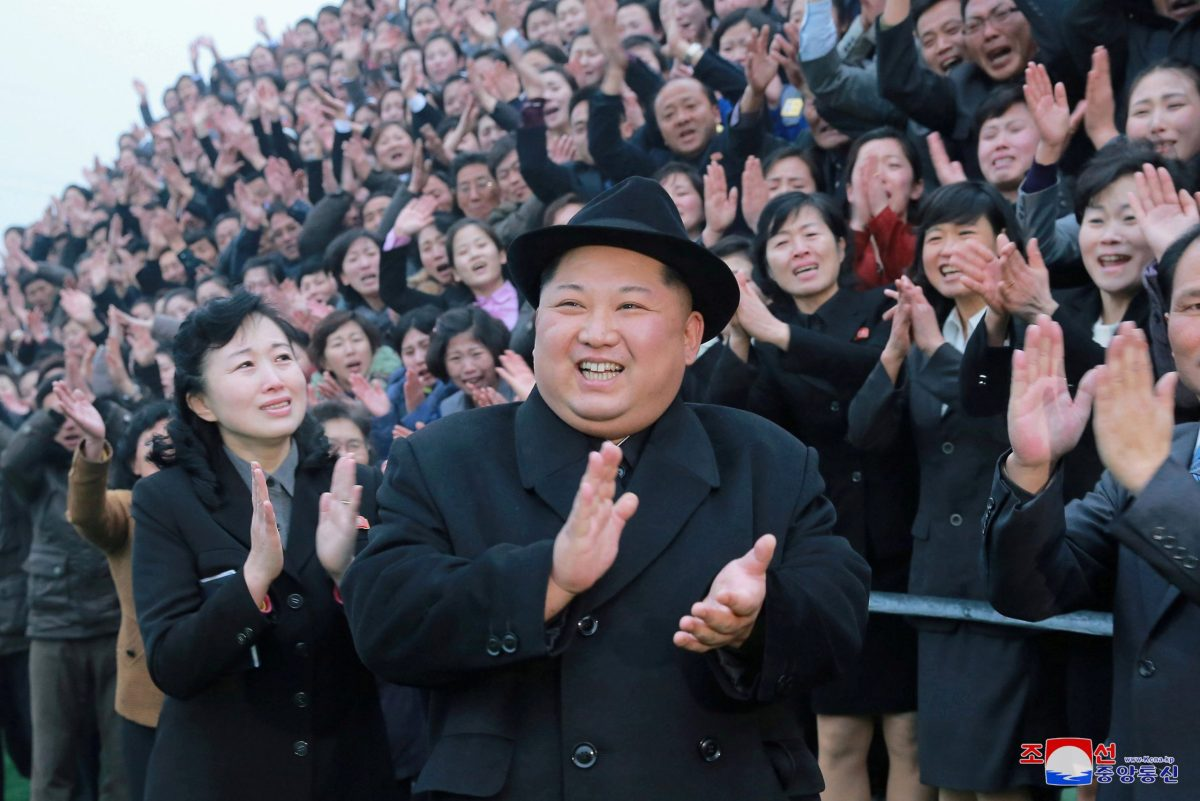 North Korean leader Kim Jong-un. Photo: Reuters via KCNA
