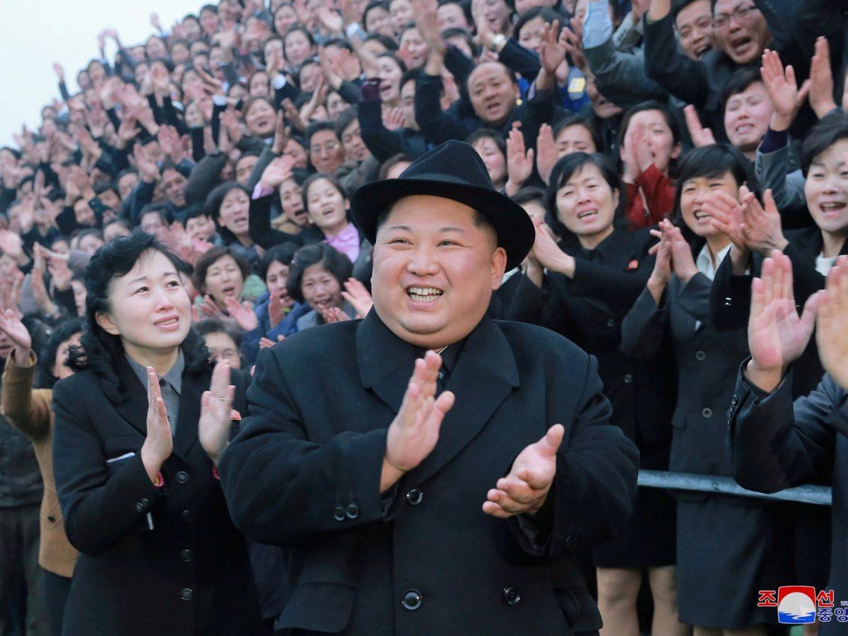 North Korean leader Kim Jong-un. Photo: Reuters via KCNA