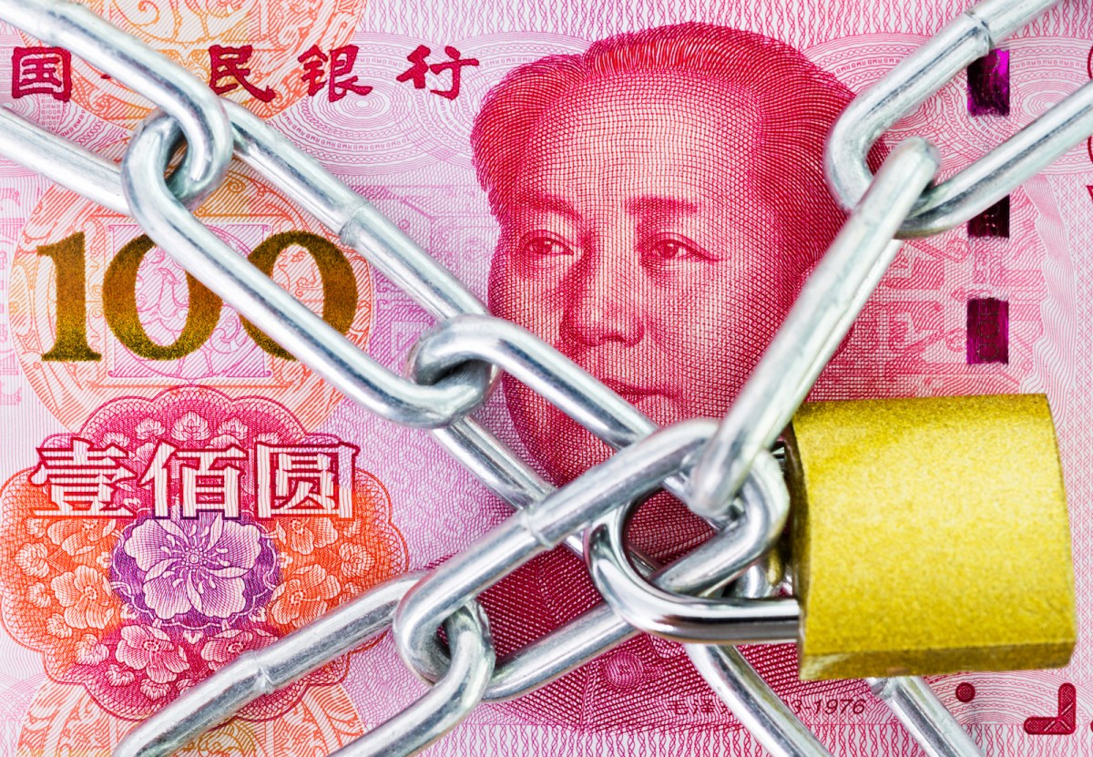 China's banking regulatory is trying to triple lock the banking sector against risks. Photo: iStock