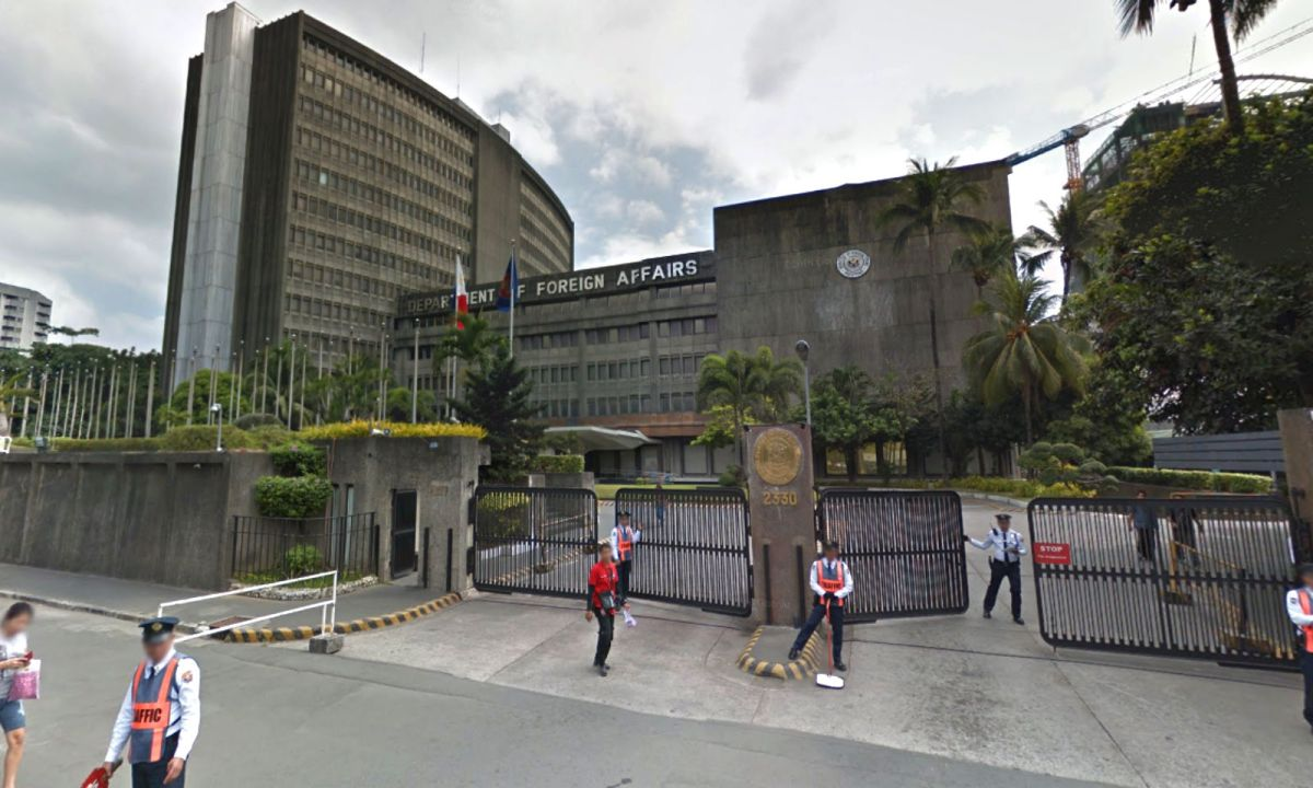 The Philippine Department of Foreign Affairs in Manila. Photo: Google Maps