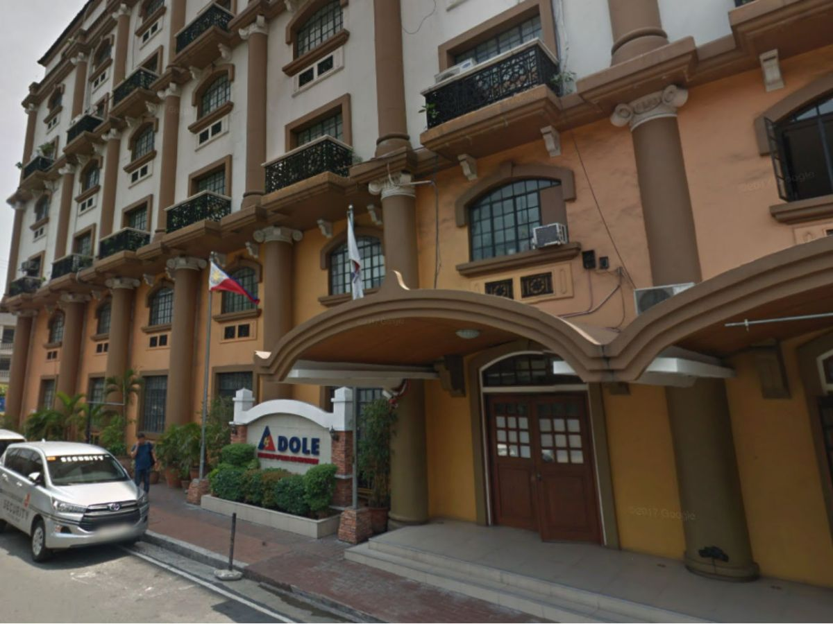 The Department of Labor and Employment in Intramuros, Philippines. Photo: Google Maps