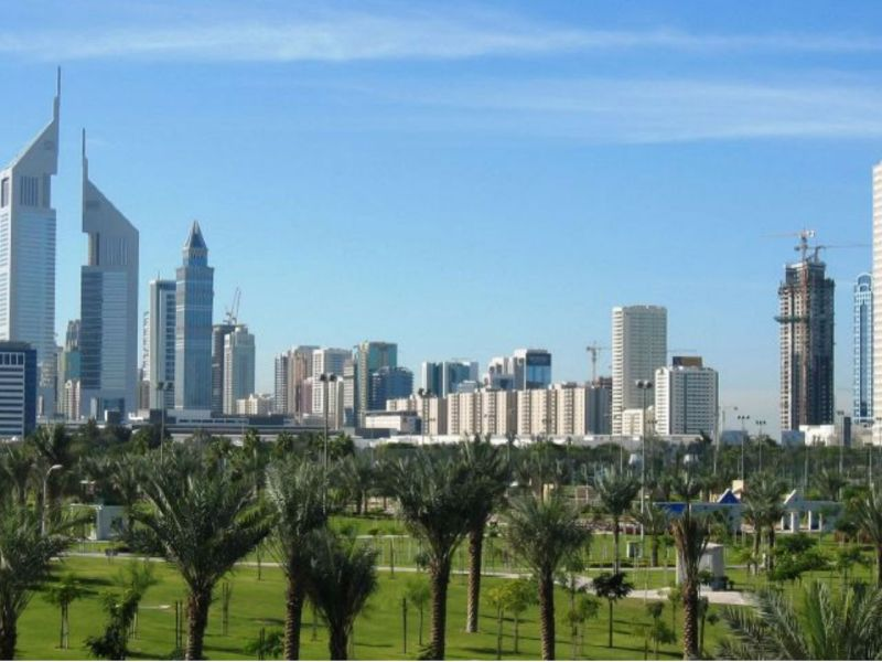 Dubai in United Arab Emirates. Photo: Wikimedia Commons, AreJay
