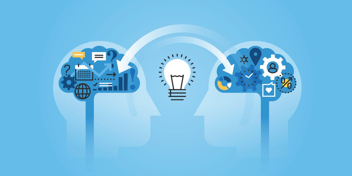 Knowledge sharing in the Internet age. Photo: iStock
