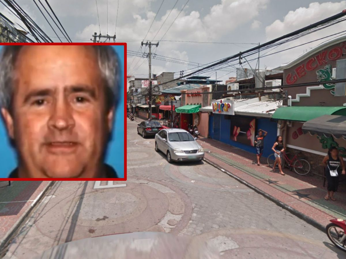 Michael Carey Clemans (inset) was sentenced to life in prison for buying Filipino children for sex. Photos: YouTube, Google Maps