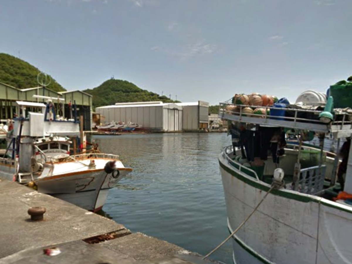Nanfang-ao in Yilan County is the home port for about 2,600 migrant fishermen in northeastern Taiwan. Photo: Google Maps