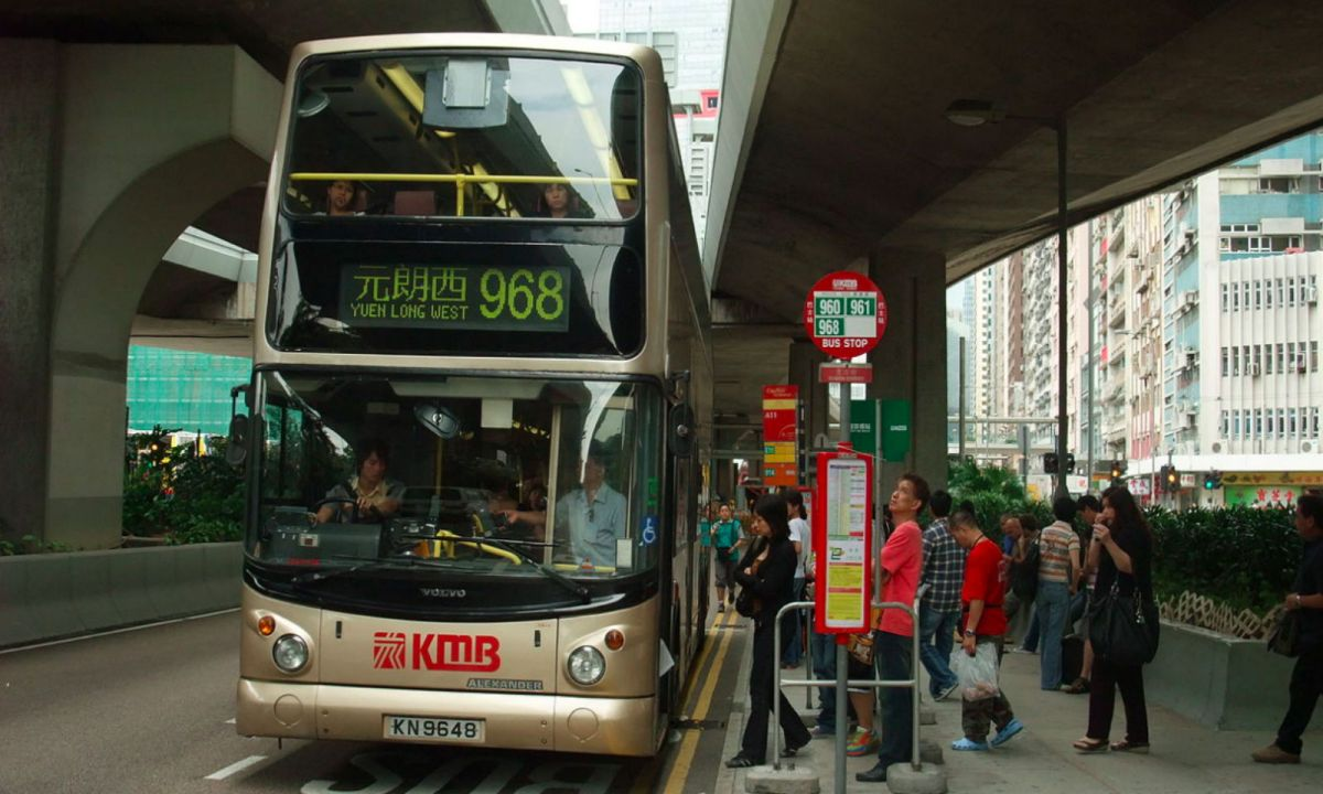 A KMB bus in Hong Kong. Photo: Wikimedia Commons