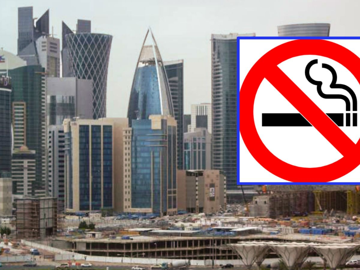 Tobacco-related items including cigarettes may not be taken into Qatar. Photos: Wikimedia Commons