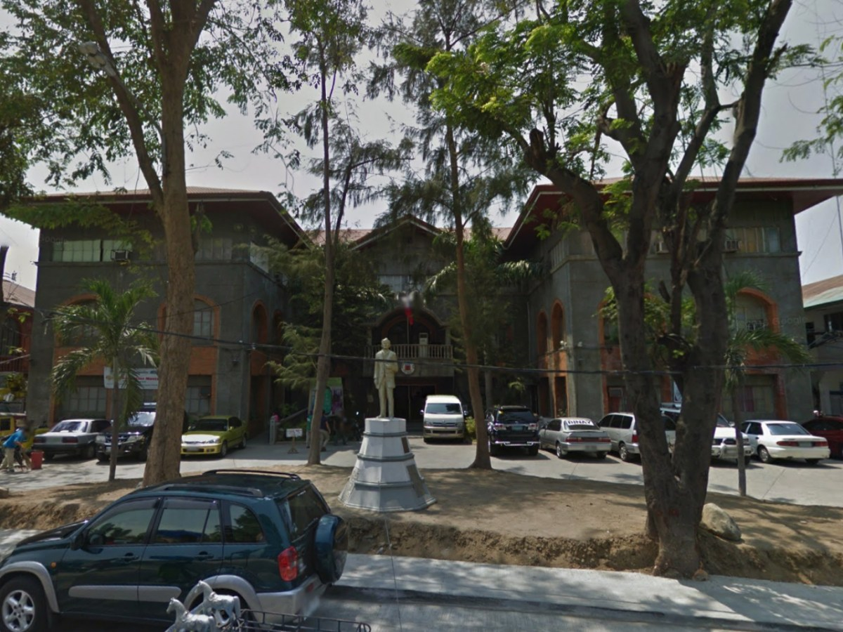 Agoo Police Station in La Union in Luzon, in the Philippines. Photo: Google Maps