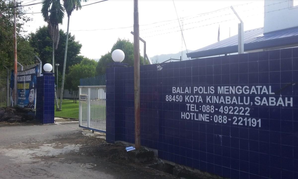 Menggatal Police Station in Kota Kinabalu, Sabah, Malaysia. Photo: Google Maps