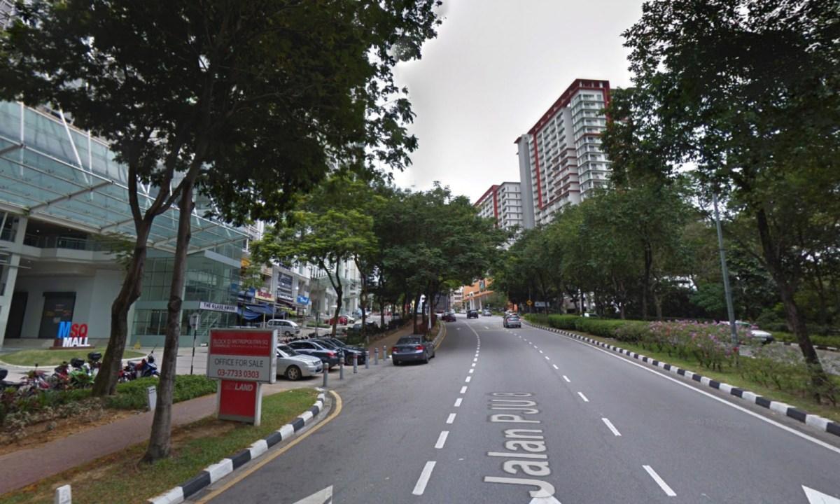 Jalan PJU 8/1, in Petaling Jaya, Selangor, Malaysia. Photo: Google Maps