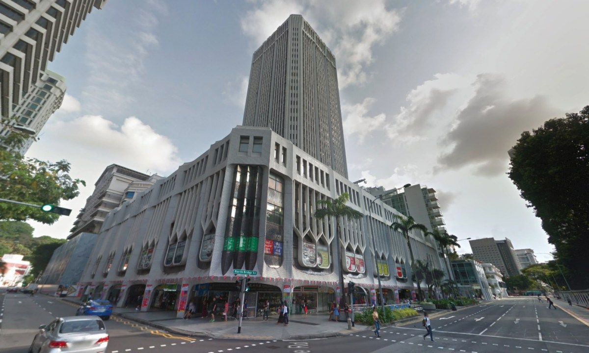 Peninsula Plaza is one of the five locations of the CDE in Singapore. Photo: Google Maps