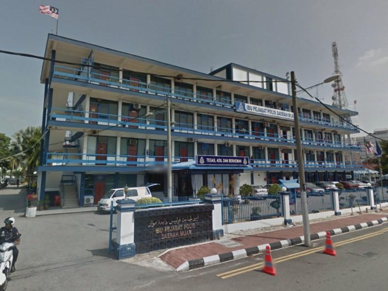 Muar Police Station in Johor, Malaysia. Photo: Google Maps