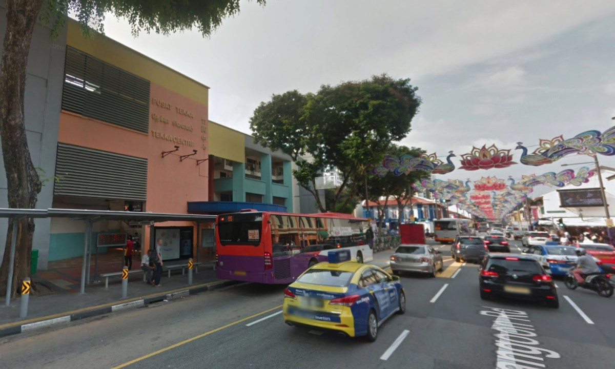 Tekka Centre on Bukit Timah Road, Singapore. Photo: Google Maps