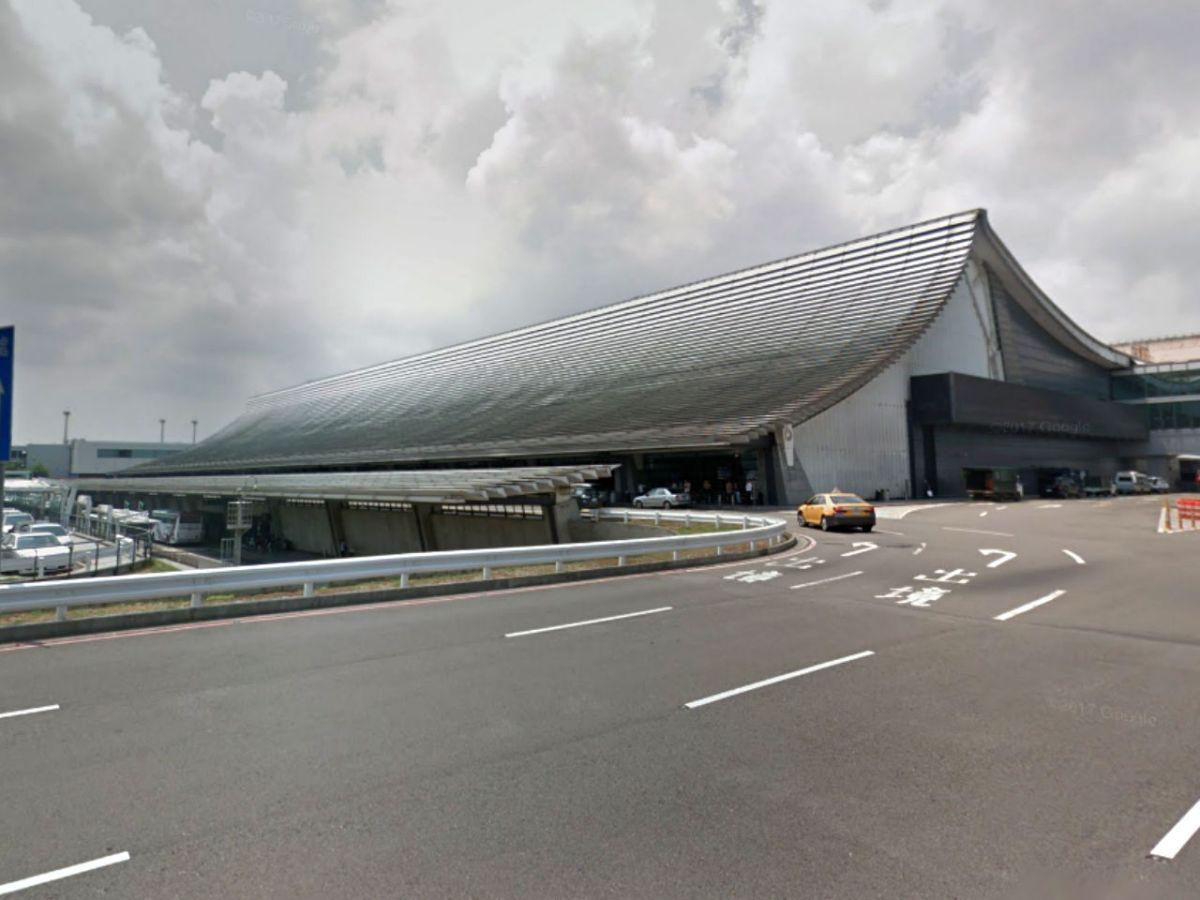 Taoyuan International Airport in Taipei, Taiwan. Photo: Google Maps