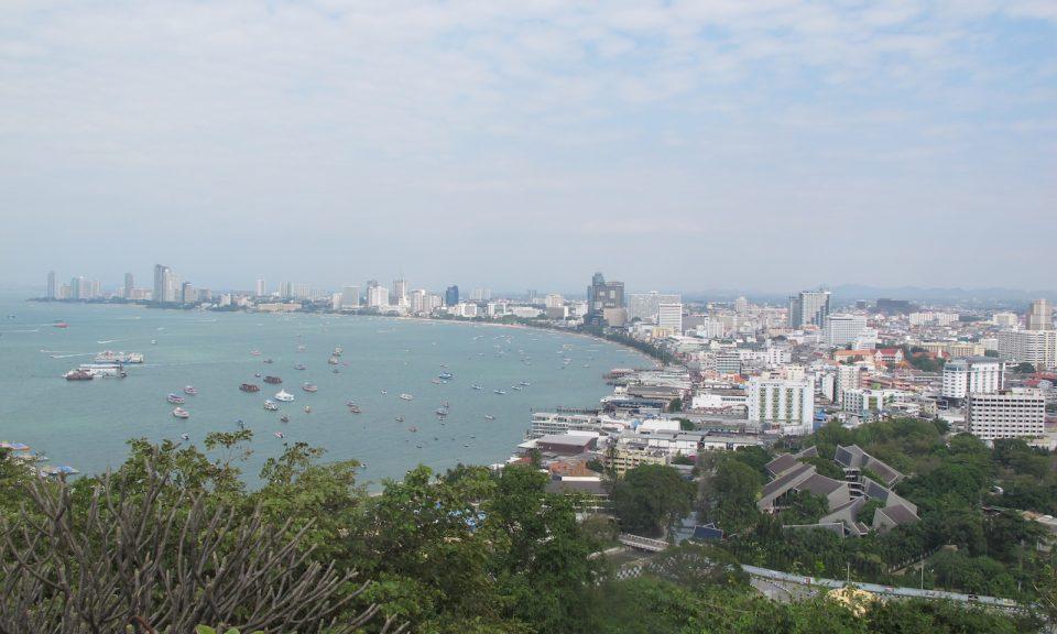 图为泰国芭堤雅海上度假胜地的景观,该地区希望从政府的东部经济走廊计划获益。相片:Peter Janssen