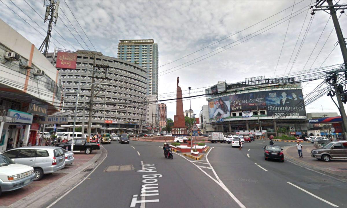 Timog Avenue in Quezon City, Philippines. Photo: Google Maps