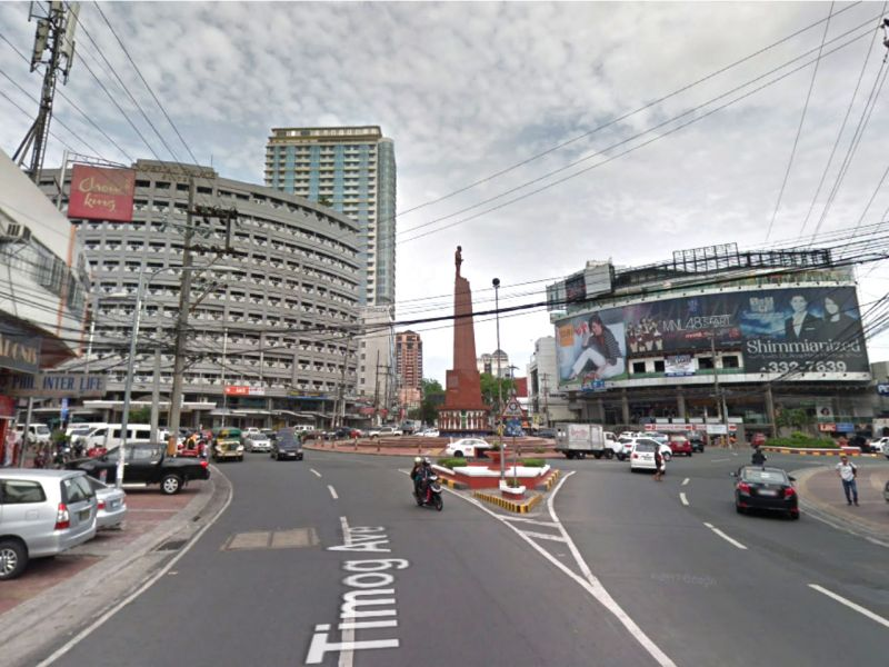 Timog Avenue in Quezon City, Philippines. Photo: Google Maps