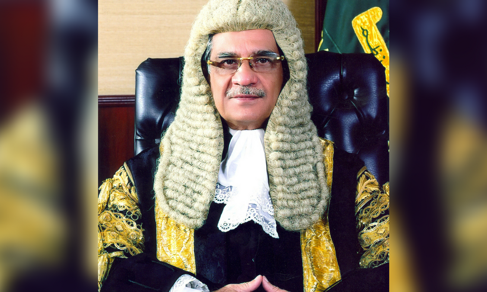 Pakistan's Chief Justice Saqib Nisar. Photo: Supreme Court of Pakistan