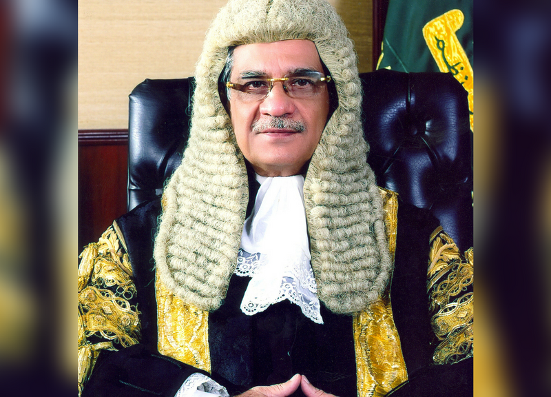 Pakistan's Chief Justice Saqib Nisar. Photo: Supreme Court of Pakistan