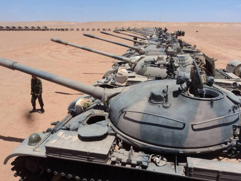 Western Sahara-Polisario-Tanks-2012-Wikimedia Commons