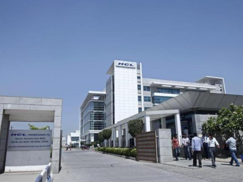 HCL Technologies office at Noida, on the outskirts of New Delhi. Photo: Reuters