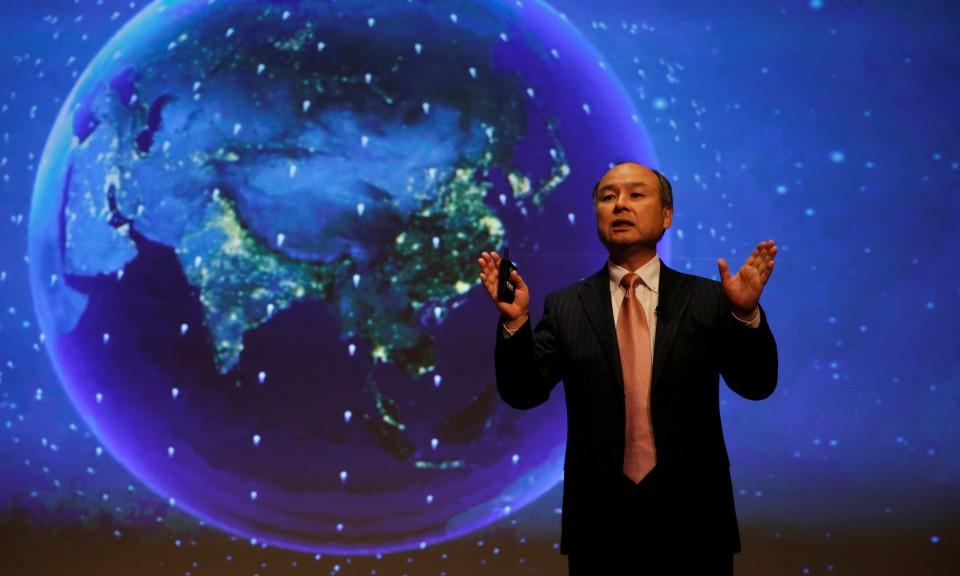 软银集团董事长孙正义寻求以数据统治世界。Reuters / Toru Hanai