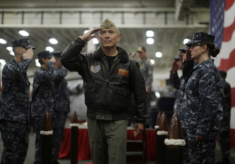 US Navy Admiral Harry Harris, Commander of the US Pacific Command. Photo: AFP