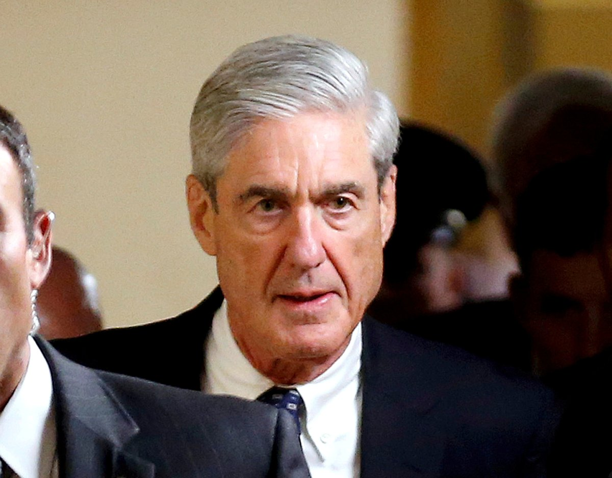 Special Counsel Robert Mueller departs after briefing members of the US Senate on his investigation into potential collusion between Russia and the Trump campaign. Photo: Reuters/Joshua Roberts