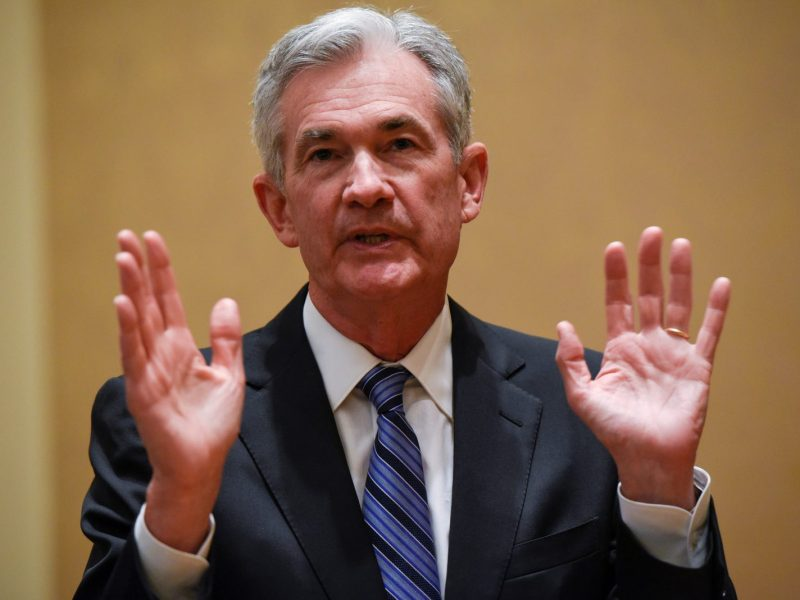 US Federal Reserve's Jerome Powell. Photo: Reuters / Sait Serkan Gurbuz