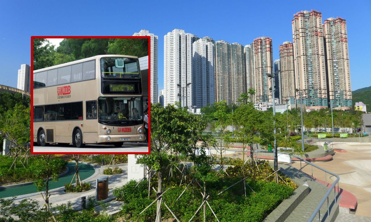 A Filipino domestic worker called a taxi to chase after her ward who boarded the wrong bus in Hang Hau, Hong Kong. Photo: Wikimedia Commons, Wing1990hk