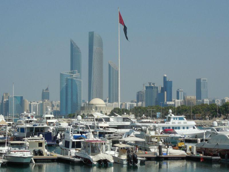 Abu Dhabi, capital of the United Arab Emirates. Photo: Wikimedia Commons, Aravind Sivaraj
