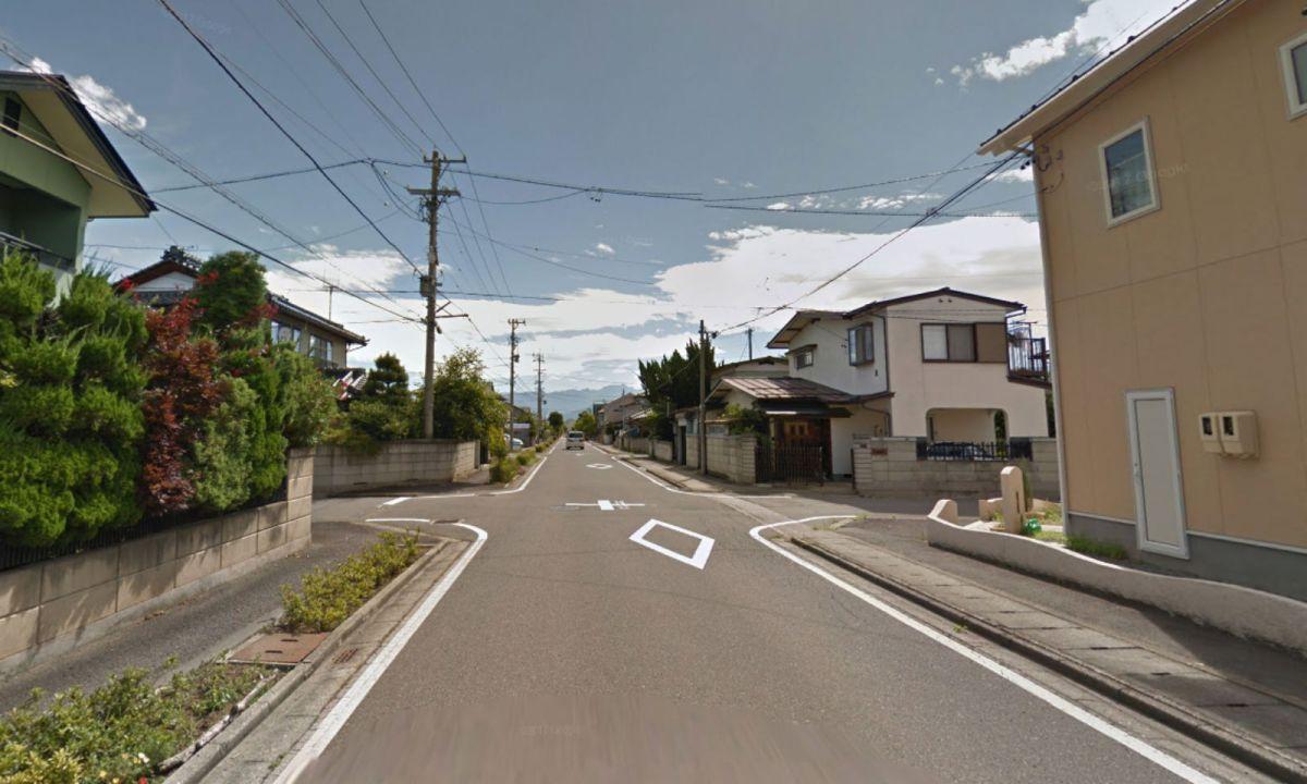 Kazama district in Nagano Prefecture, Japan. Photo: Google Maps