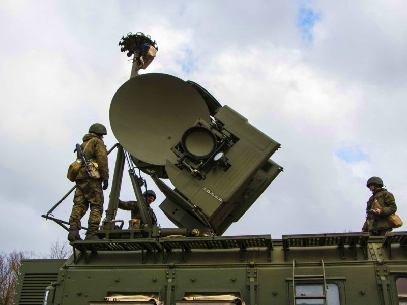 Krasukha-4  electronic warfare system. Photo: The Military Review