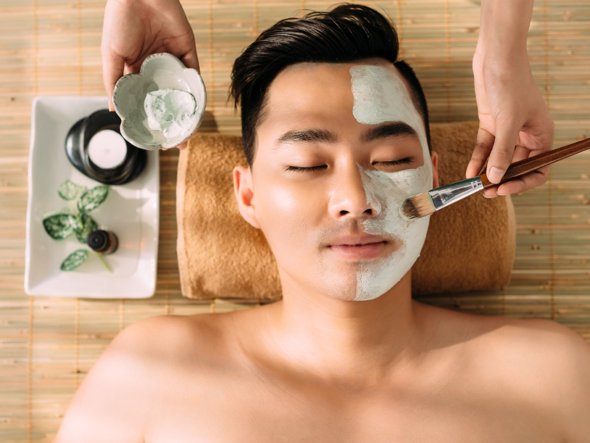 Beauty products for men have taken off in South Korea. Photo: iStock