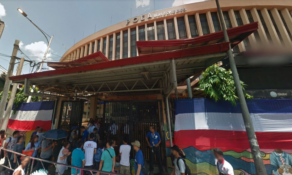The Philippine Overseas Employment Administration building in Ortigas, Mandaluyong in the Philippines. Photo: Google Maps