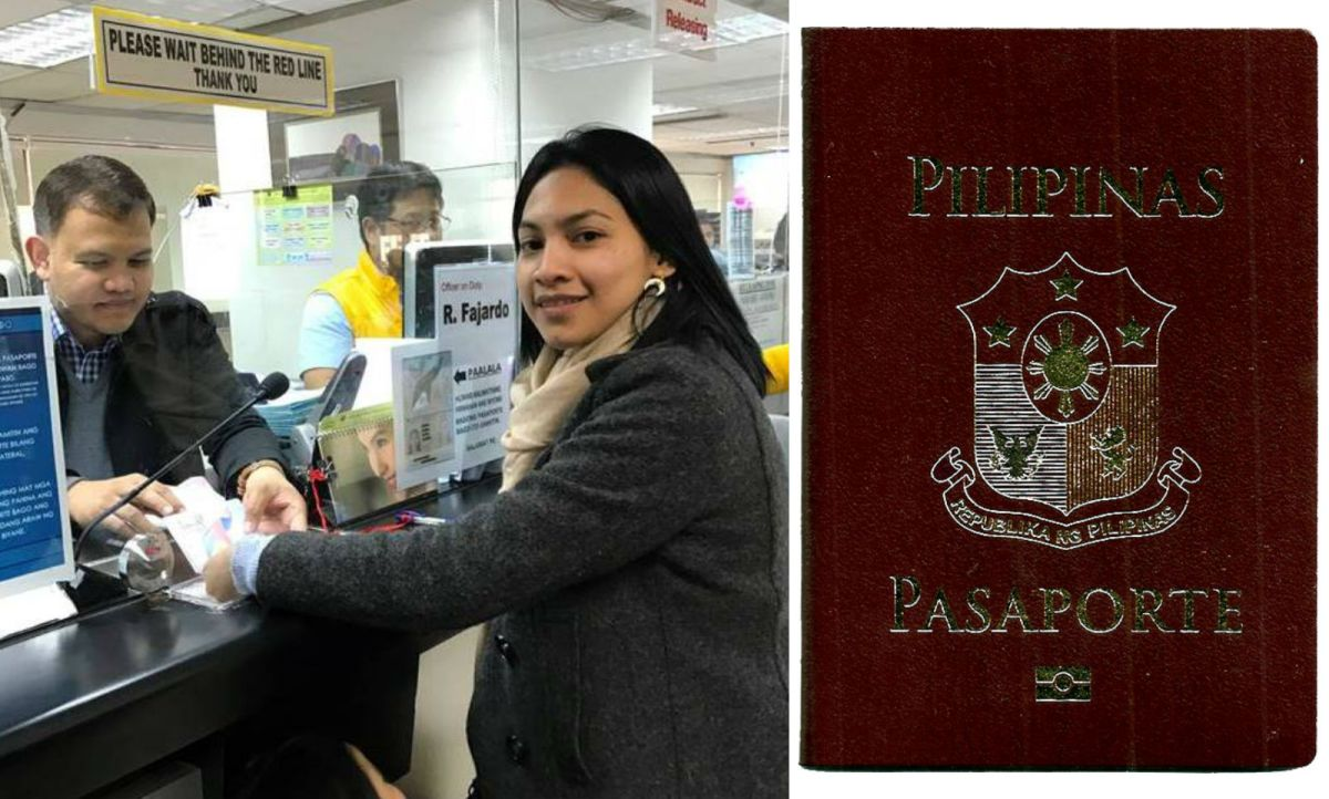 Bonna Bee Bedia was the first to receive the new 10-year Philippine passport in Hong Kong. Photos: Philippine Consulate-Hong Kong, Wikimedia Commons, Exec8