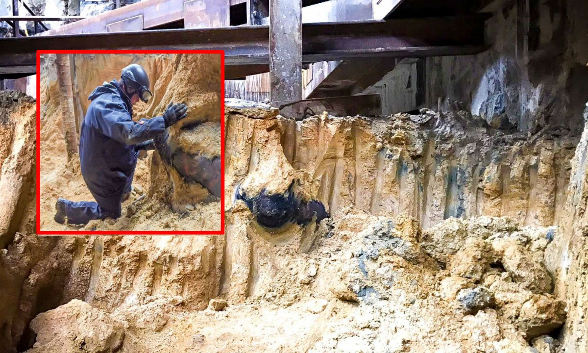 The second bomb was found after a 500kg bomb was defused on Sunday at the same construction site in Wanchai. Photo: Facebook, HK Police