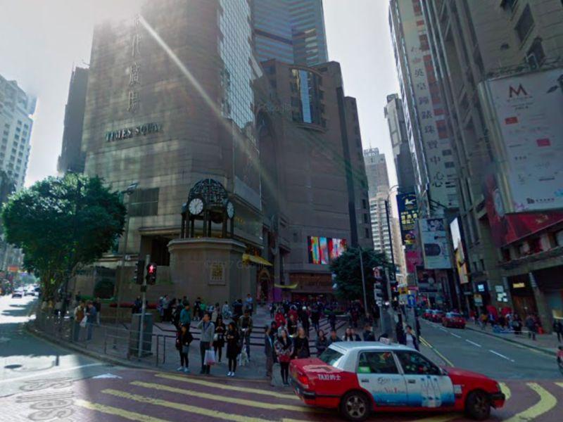 Times Square in Causeway Bay, Hong Kong Island. Photo: Google Maps