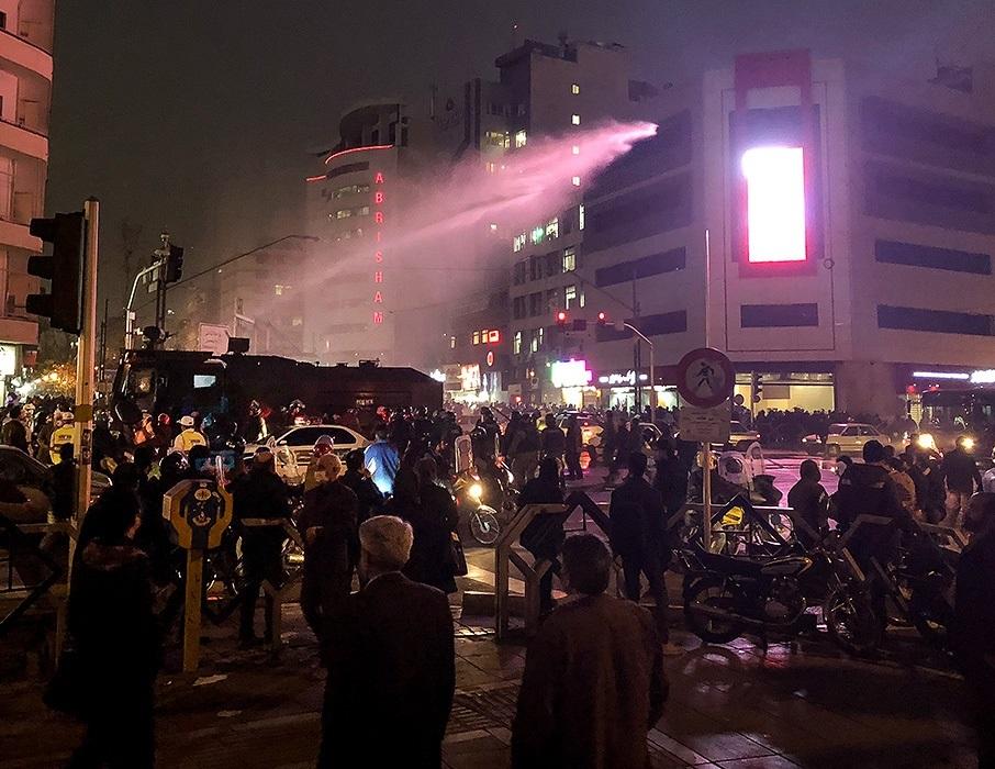 Tehran protest December 2017. Photo: Flickr Commons